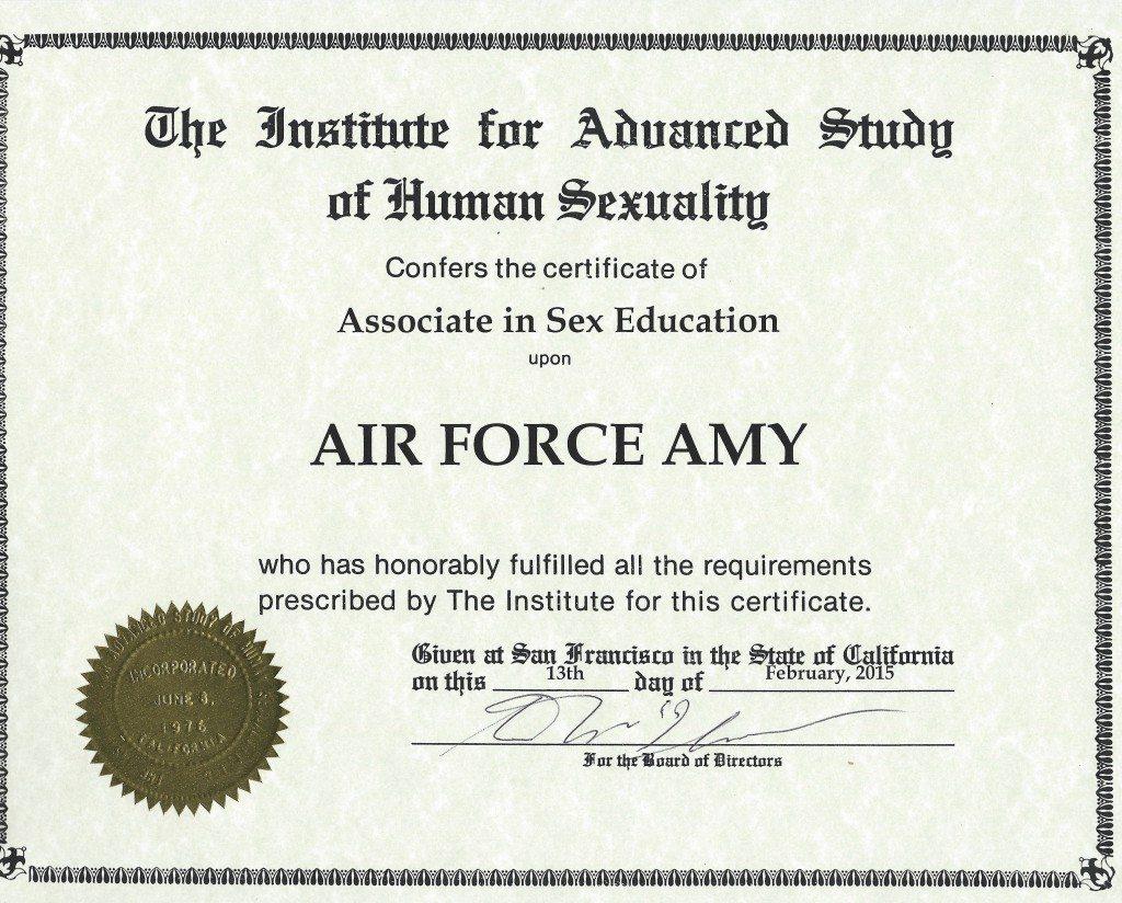Diploma Sex Ed