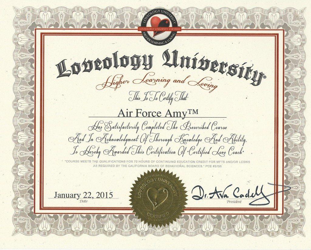 Loveology Diploma