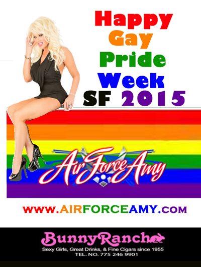 Air Force Amy Gay Pride SF 2015